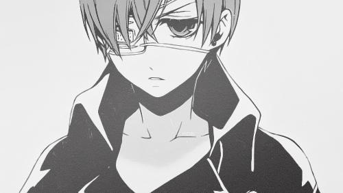 dessin manga black butler